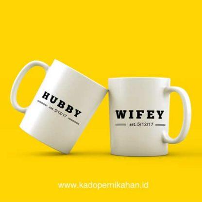 Kado Pernikahan Artis - Mug Unik Custom Design Terbaru