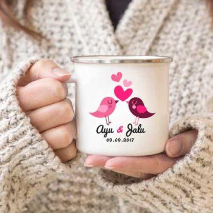 Kado Pernikahan Dari Sahabat - Mug Couple Custom