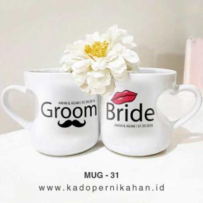 Kado Pernikahan Di Shopee - Mug Murah Custom