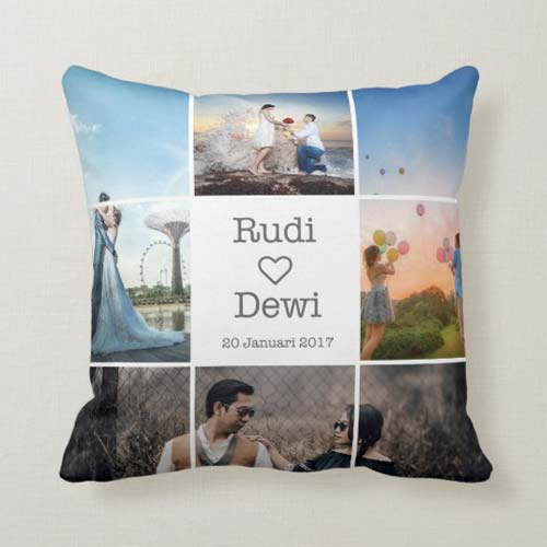 Kado Pernikahan Inspirasi Bantal Couple