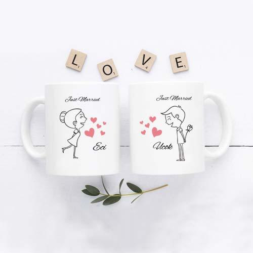 Kado Pernikahan Cikarang - Mug Mewah Custom Design