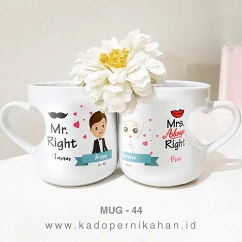 Kado Pernikahan Cikarang - Mug Custom Desain Unik