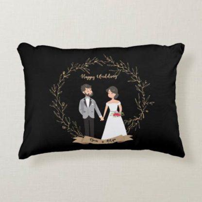 Kado Pernikahan Adik - Bantal Unik Custom Design