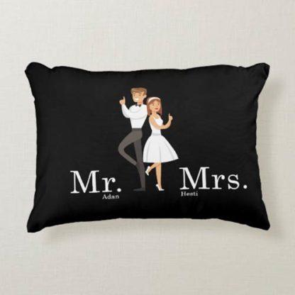 Kado Pernikahan Adik - Bantal Terunik Custom Design