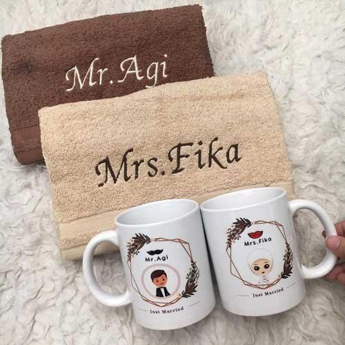 Hadiah Pernikahan untuk Sahabat Perempuan