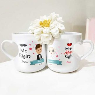 Jual Kado Pernikahan di Pekanbaru mug couple