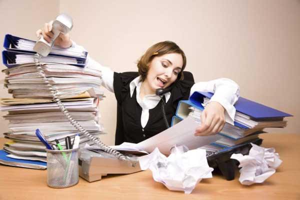 Lebih suka menghabiskan waktu di kantor