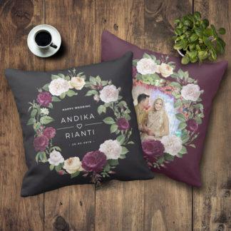 Kado Pernikahan Teman - Bantal Terbaru Custom Design