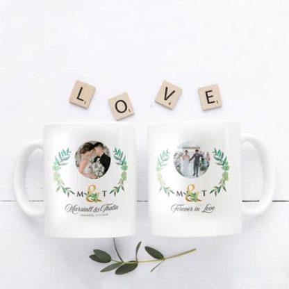 Kado Pernikahan Cantik Mug Custom