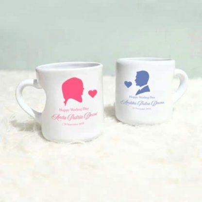 mug couple gagang love unik
