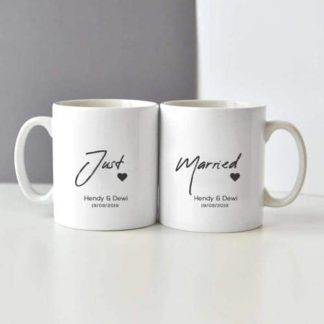kado pernikahan couple mug cantik couple