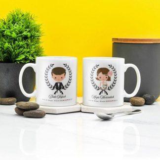 Kado Pernikahan Handmade Mug Custom Design