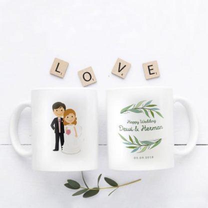 Kado Pernikahan Buat Mantan Mug Couple