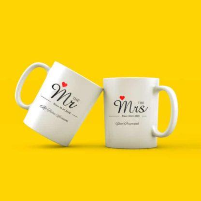 Kado Pernikahan Unik Mug Custom