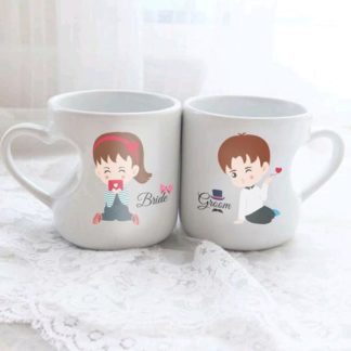 mug love couple tema pasangan lucu