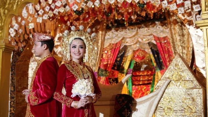 pernikahan adat minang