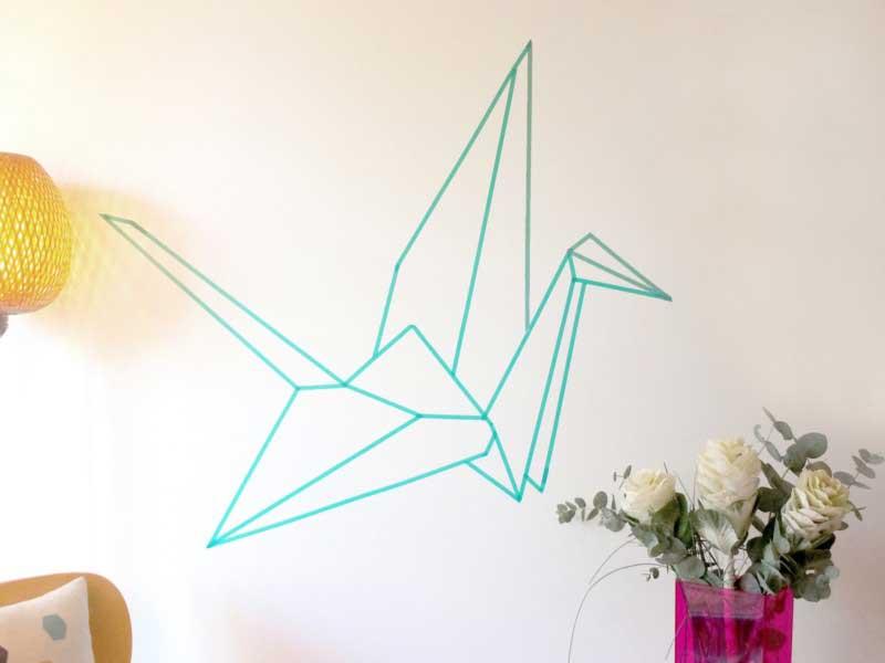 Cara Membuat Hiasan Dinding Dari Kertas Origami Zaferina Kado