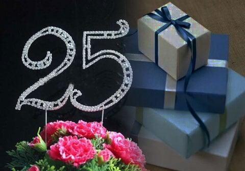 Kado Ulang Tahun Pernikahan ke 25