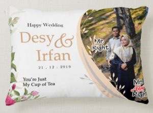 Bantal Couple Custom