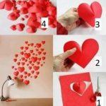 membuat Hati 3 Dimensi dari kertas Origami