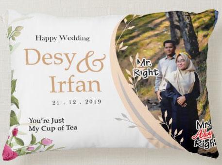 Bantal Couple Bandung