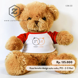 Boneka Teddy Bear Custom Design