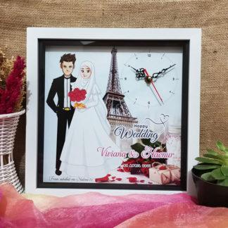 Jam Design Unik Kode HS-14 | Kado Yang Bagus Buat Pernikahan