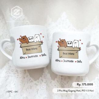 Hadiah Pernikahan Mug Couple
