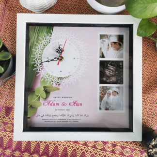 Jam Design Unik Kode BLF-02 | Kado Yang Cocok Untuk Pernikahan