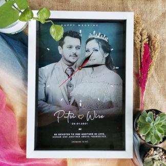 Jam Custom Fram Kode FR-80 | Kado Yang Cocok Untuk Pernikahan