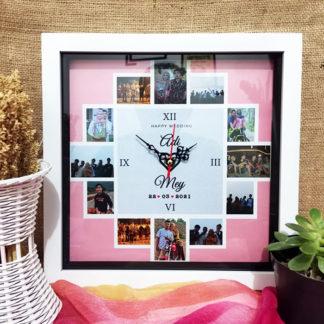 Jam Custom Kode LPK-11 | Hadiah Yang Cocok Untuk Pernikahan Teman
