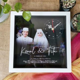 Kado Jam Custom Design Kode SPC-100 | Kado Pernikahan Islami