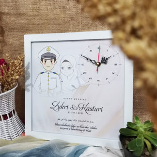Jam Foto Custom Kode SPC-121 | Kado Yang Bagus Buat Pernikahan