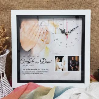 Jam Custom Design Kode SPC-122 | Kado Yang Bagus Buat Pernikahan